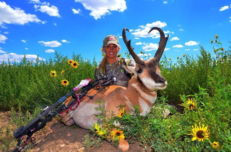 The beautiful antelope I shot on a friend's ranch while guided by my husband Lee!