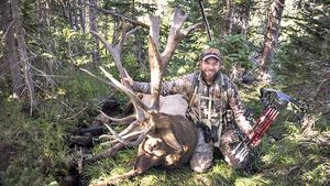 Sub 7 Producer Marc Womack harvested this giant Colorado bull!